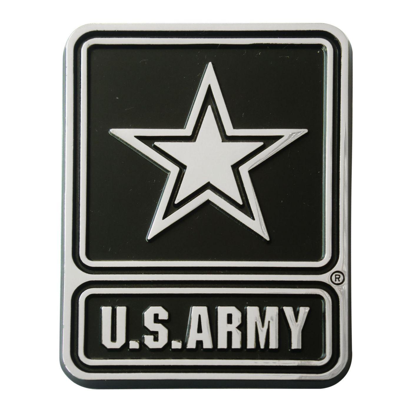 FANMATS Army West Point Black Knights Chrome Emblem