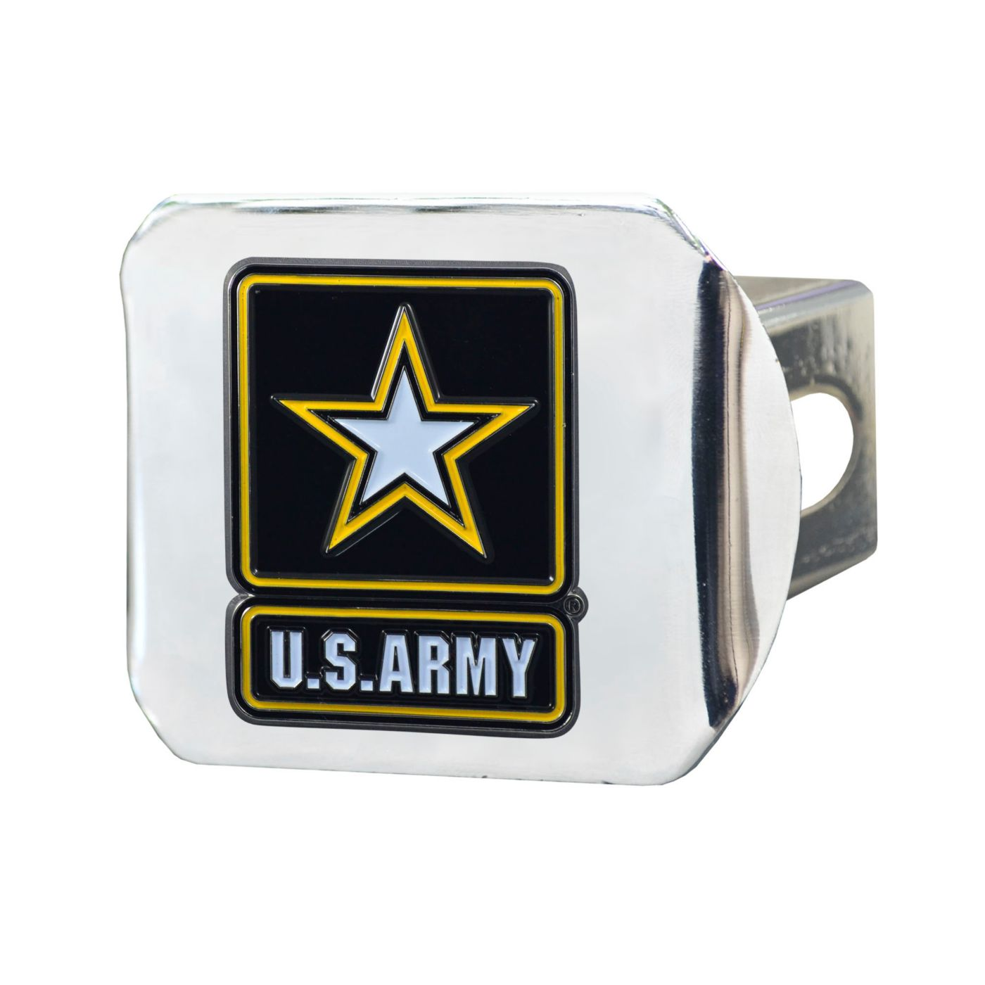 FANMATS Army West Point Black Knights Chrome Hitch Cover