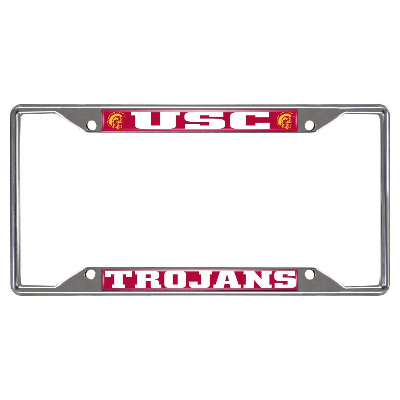 FANMATS USC Trojans License Plate Frame