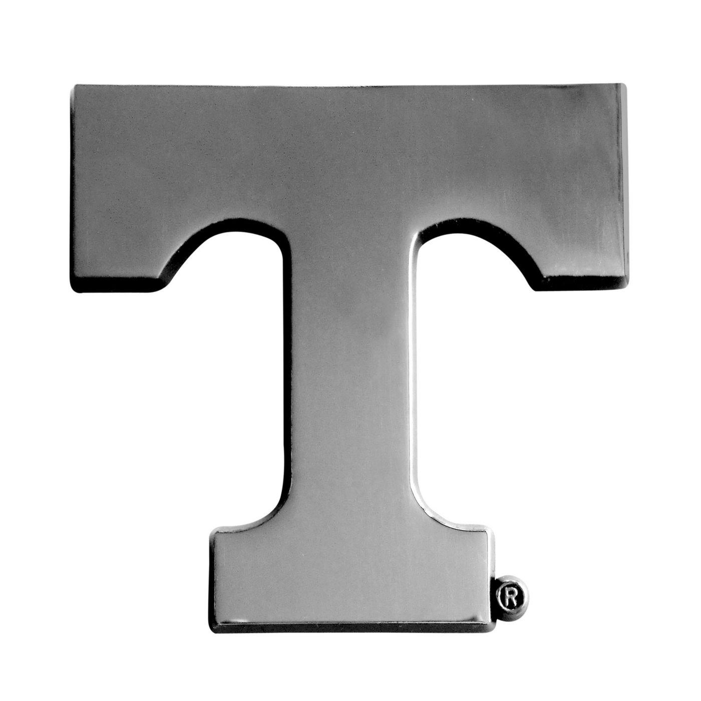 FANMATS Tennessee Volunteers Chrome Emblem