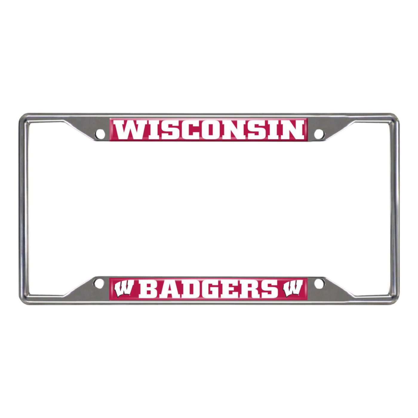 FANMATS Wisconsin Badgers License Plate Frame