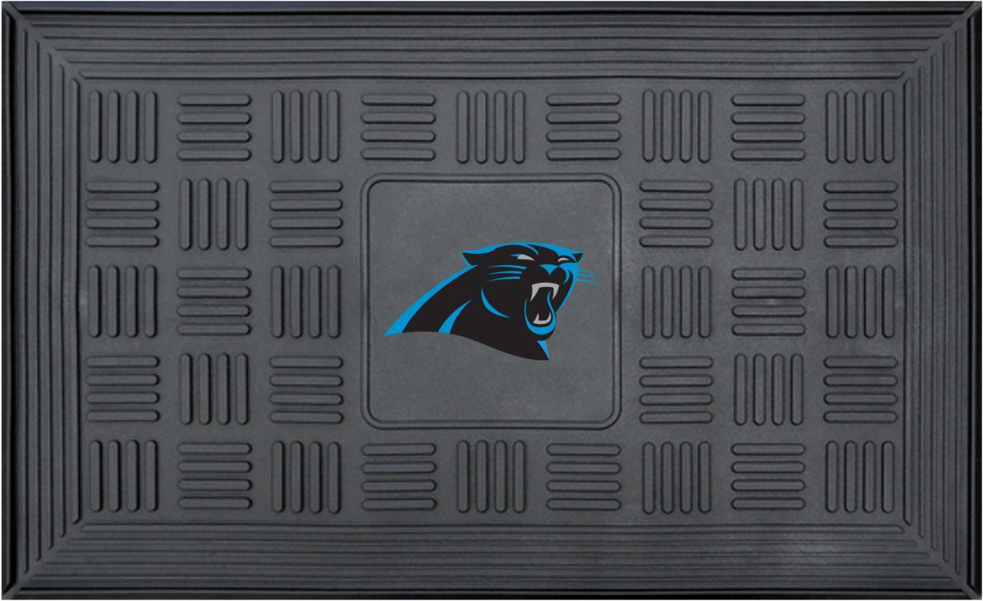 FANMATS Carolina Panthers  Door Mat