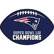 FANMATS Super Bowl LIII Champions New England Patriots Football Mat
