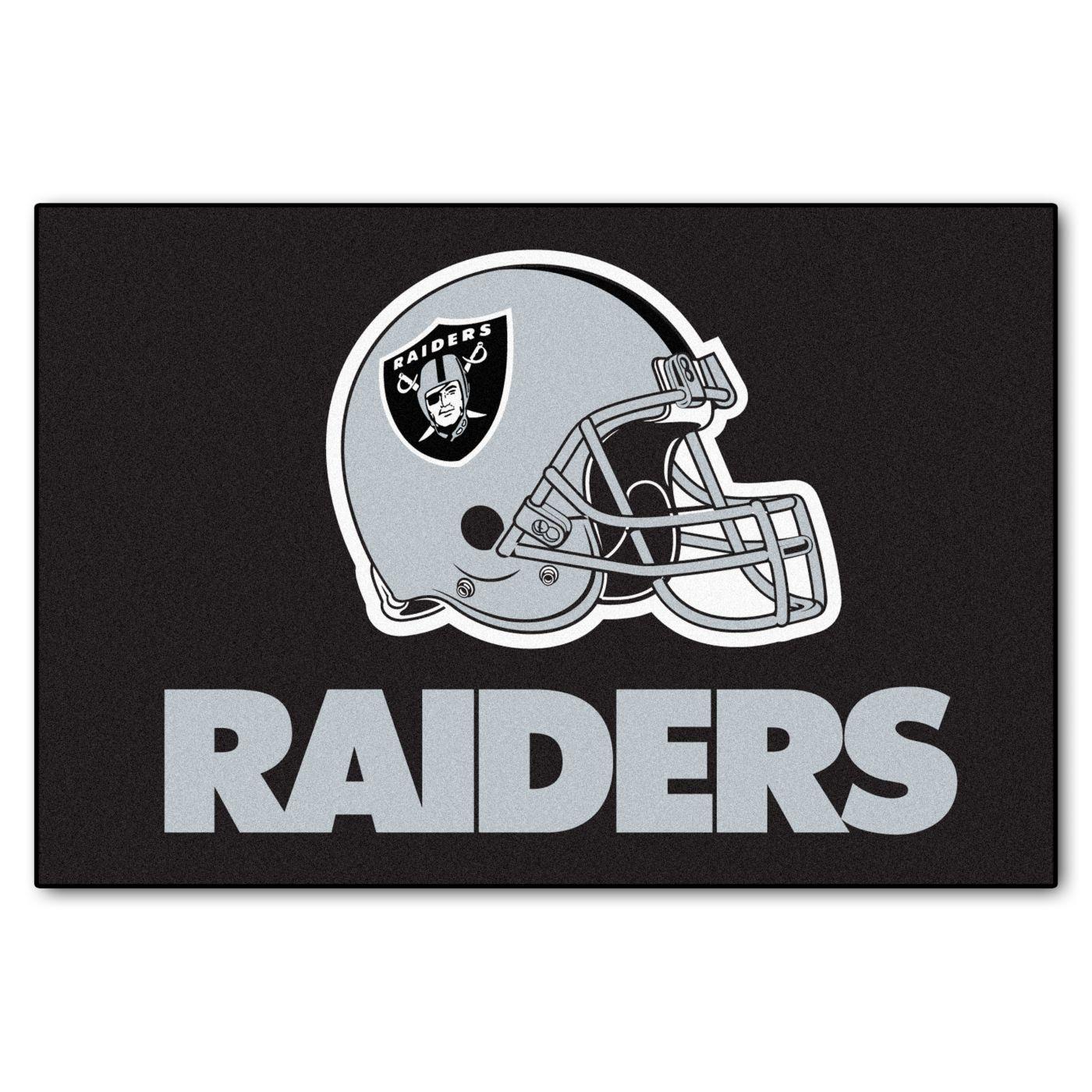 FANMATS Oakland Raiders Starter Mat