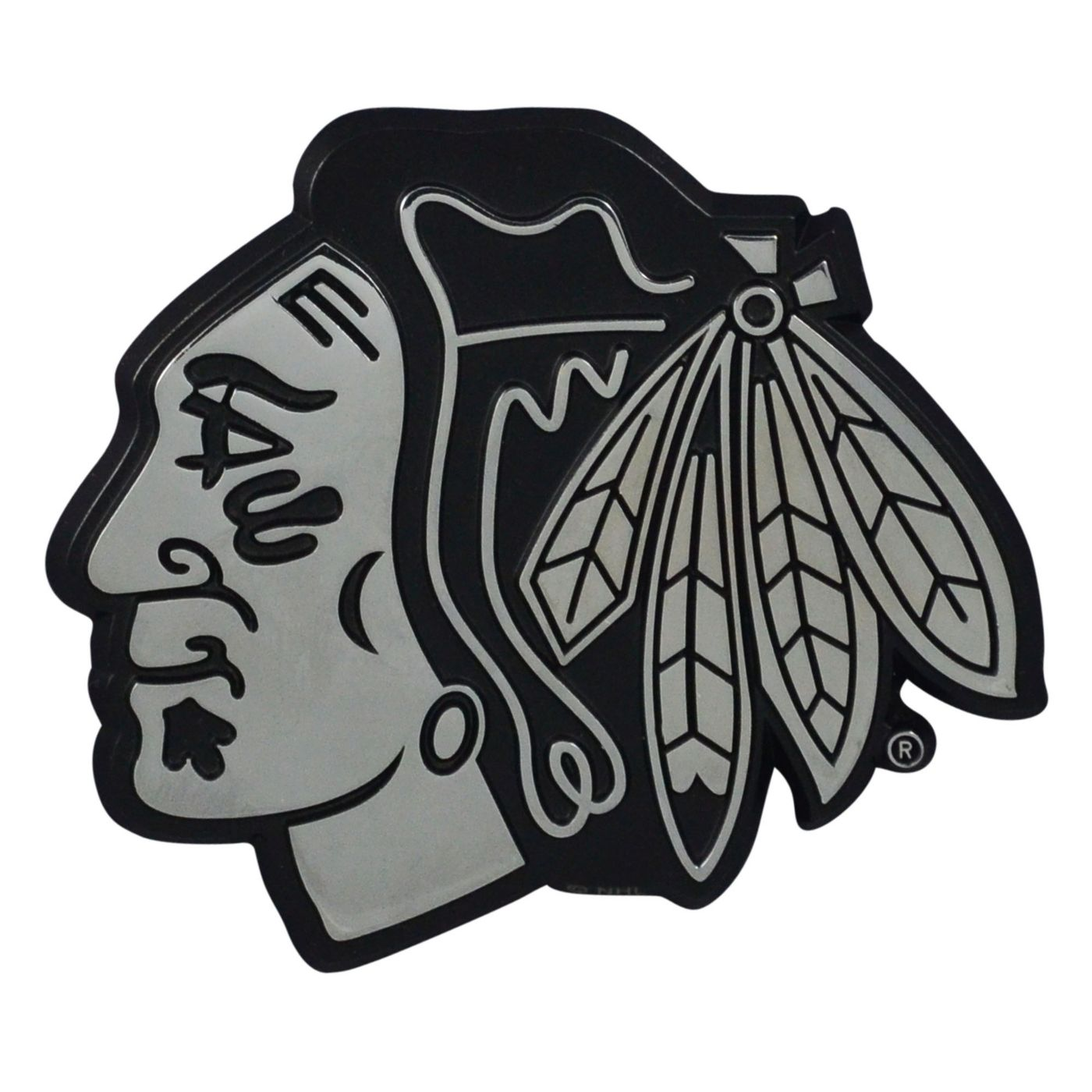 FANMATS Chicago Blackhawks Chrome Emblem