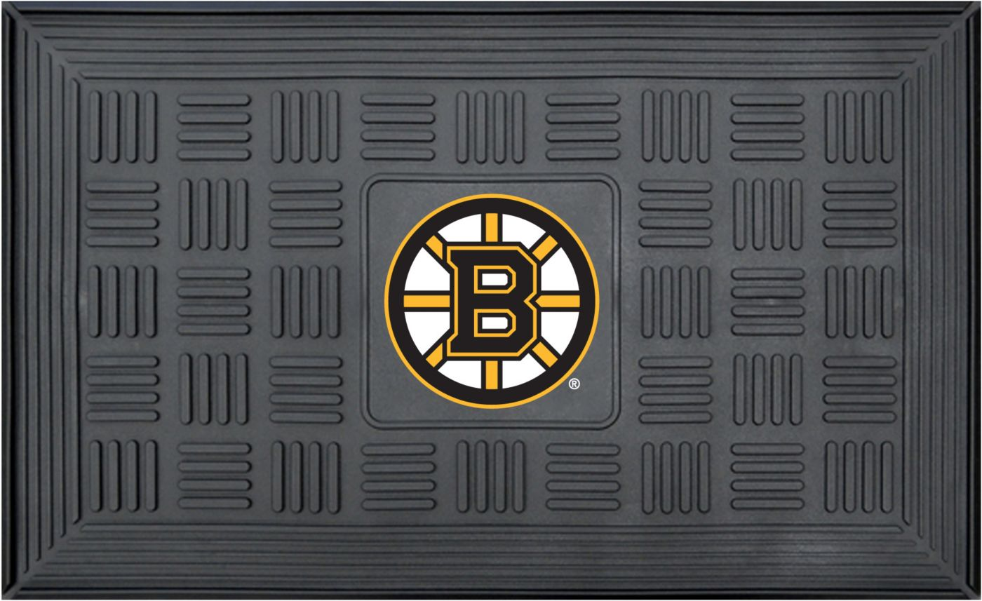 FANMATS Boston Bruins Door Mat