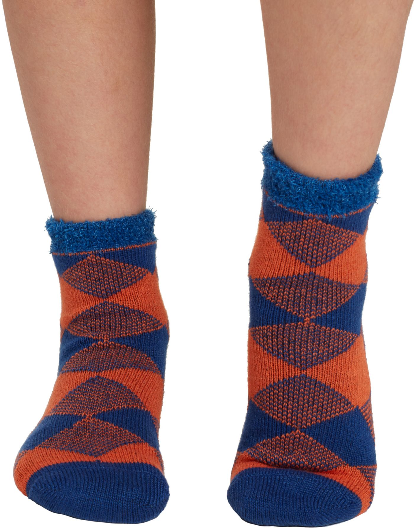 Field & Stream Youth Cozy Cabin Buff Check Crew Socks