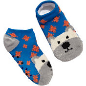 Field & Stream Youth Cozy Cabin Bear Low Cut Socks