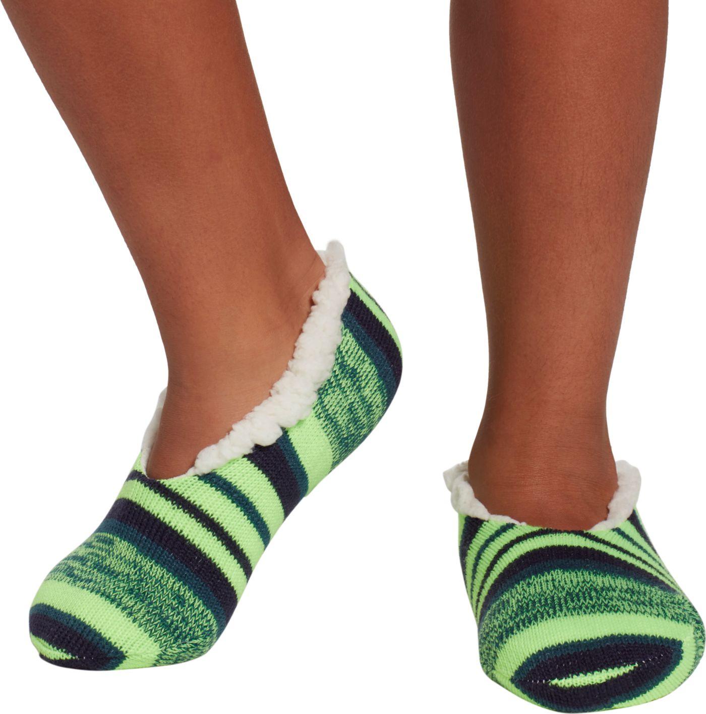 Field & Stream Boys' Cozy Cabin Stripe Slipper Socks