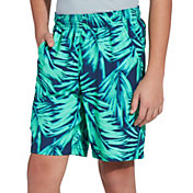 Field & Stream Youth Harbor II Print Shorts in Tropical Floral Blue