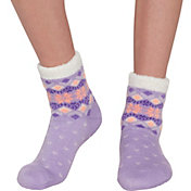 Field & Stream Girls' Cozy Cabin Snowflake Dot Crew Socks