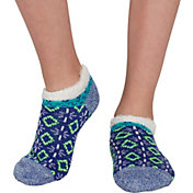 Field & Stream Girls' Cozy Cabin Tribal Block Ankle Socks