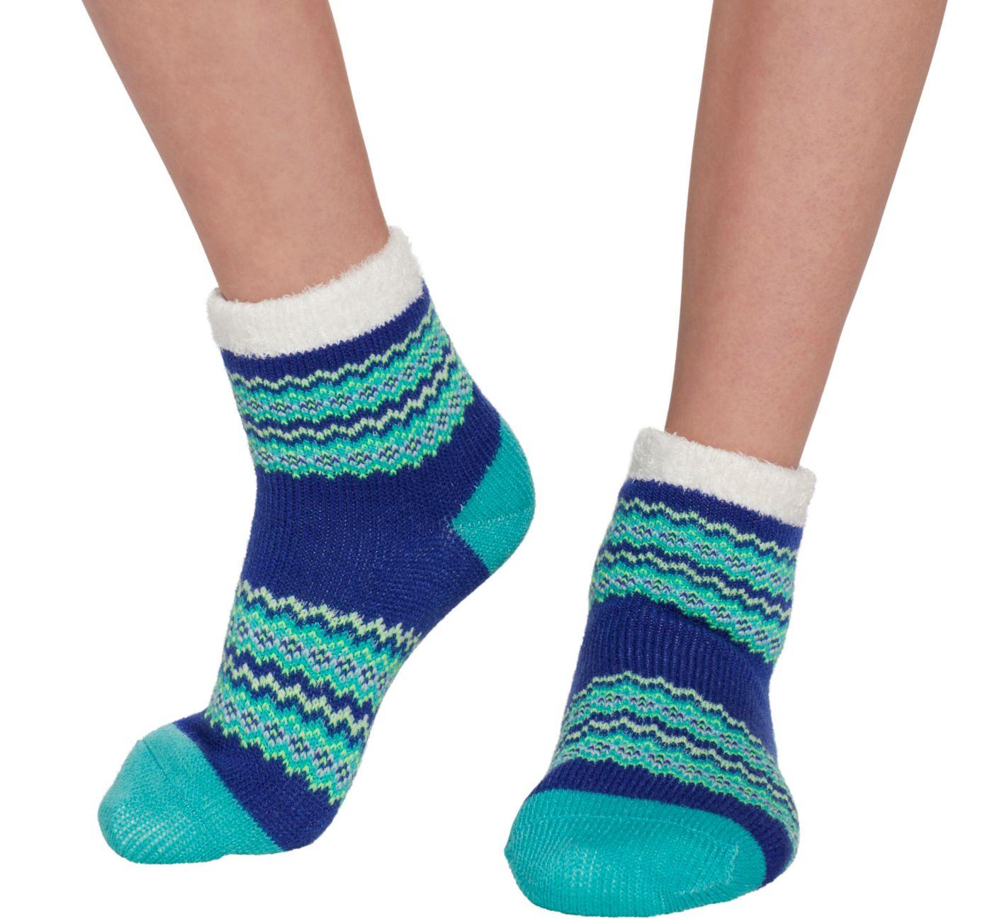 Field & Stream Girls' Cozy Cabin Tribal Crew Socks
