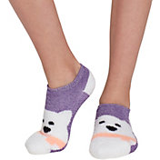Field & Stream Girls' Cozy Cabin Bear Low Cut Socks