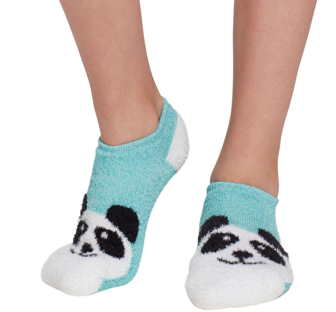 Field & Stream Girls' Cozy Cabin Panda Low Cut Socks