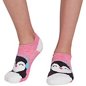 Field & Stream Girls' Cozy Cabin Penguin Low Cut Socks