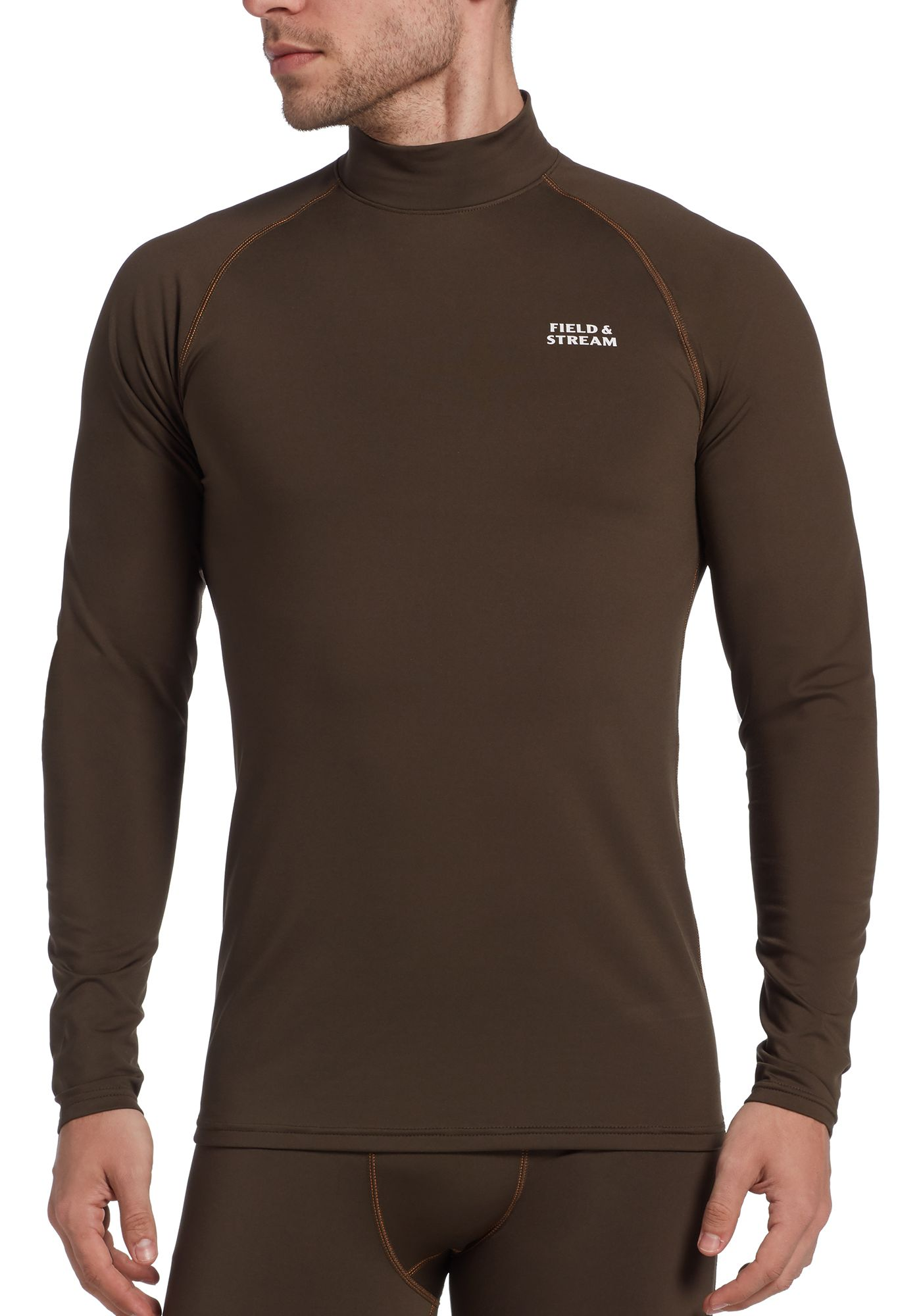 Field & Stream Men's Base Defense Mid-Weight Mock Neck