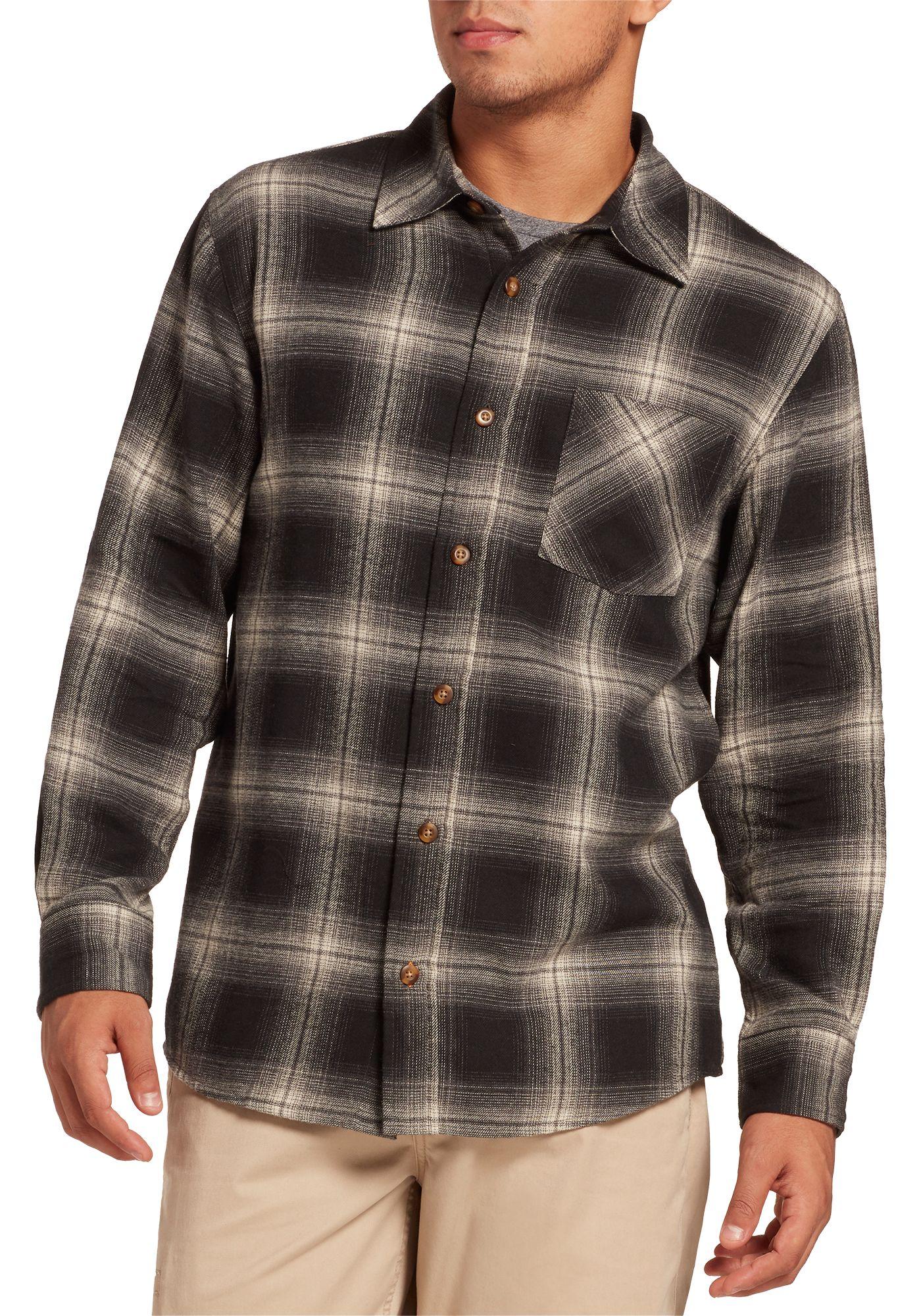 Field & Stream Men's Classic Lightweight Flannel Button Up Long Sleeve Shirt (Regular and Big & Tall)
