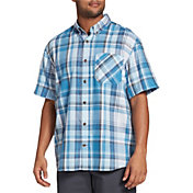 Field & Stream Men's Classic Plaid Button Up Collared T-Shirt