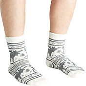 Field & Stream Men's Cabin Moose Stripe Socks