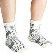Field & Stream Men's Cabin Moose Stripe Socks