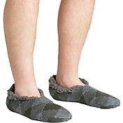 Field & Stream Men's Cozy Cabin Buff Check Slipper Socks