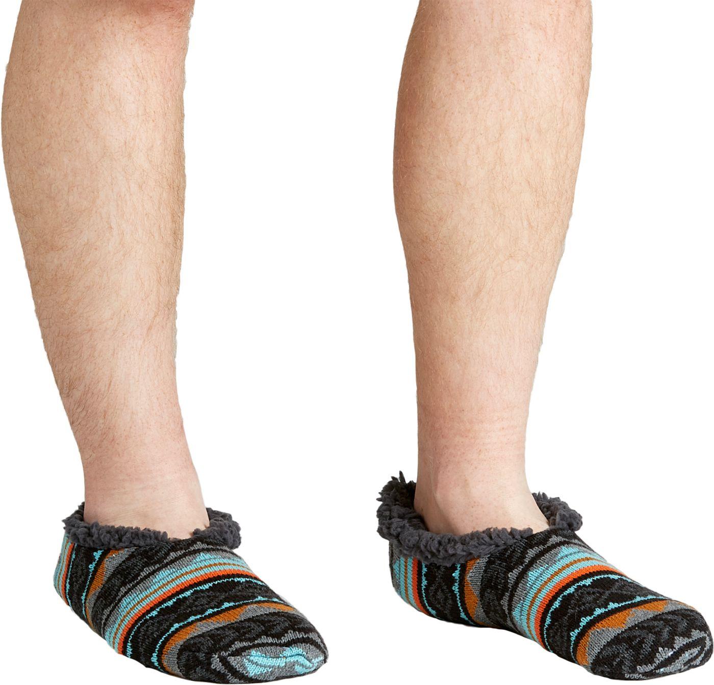Field & Stream Men's Cozy Cabin Tribal Nord Slipper Socks