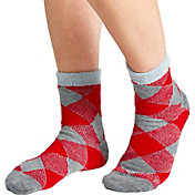 Field & Stream Team Buffalo Check Cozy Cabin Crew Socks