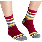 Field & Stream Team Stripe Block Cozy Cabin Crew Socks