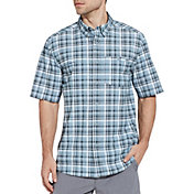 Field & Stream Men's Deep Runner Stretch Plaid Button Up Shirt