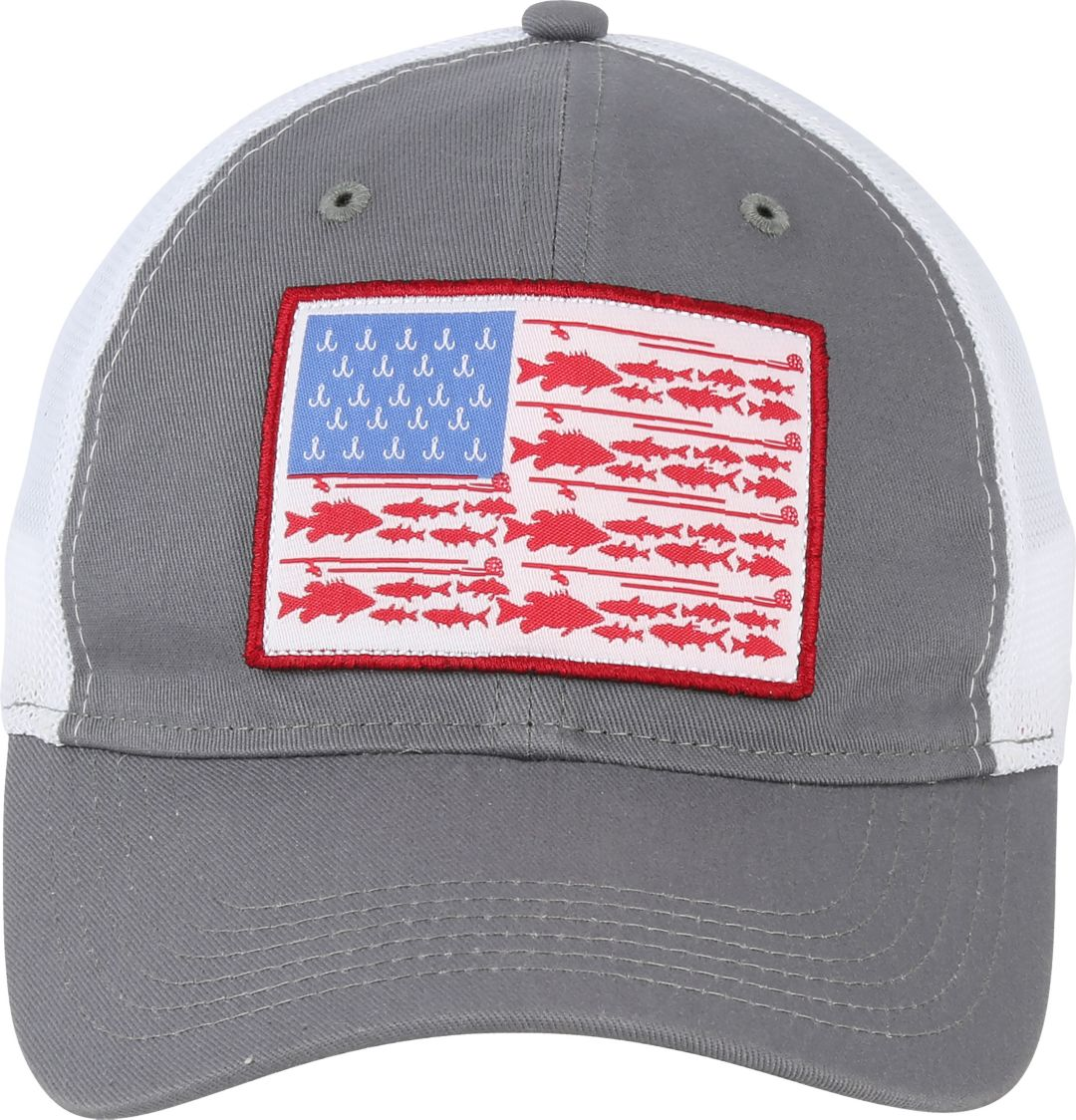 67cf712fc Field & Stream Men's Fish Icon Flag Mesh Back Hat