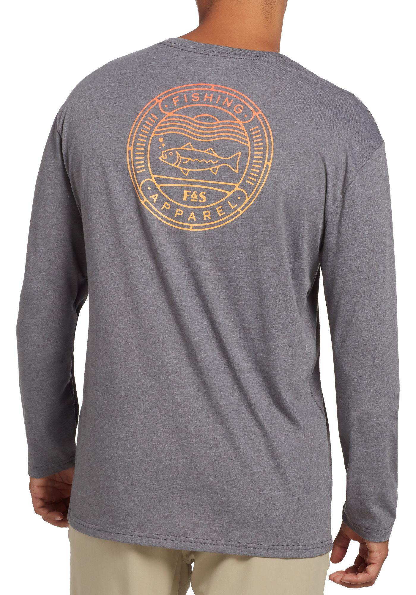 Field and Stream Men's Fish Graphic Long Sleeve Shirt