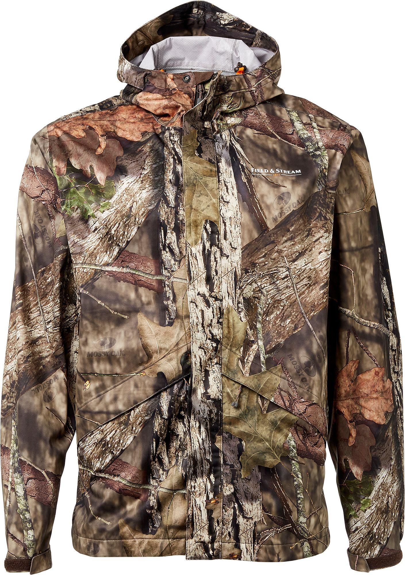 Field & Stream Men's Every Hunt Packable Rain Jacket, Medium, Green