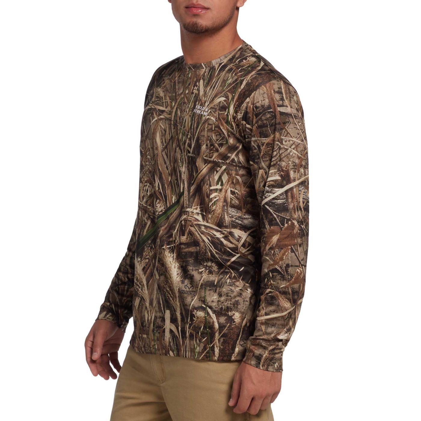 Field & Stream Men's Long Sleeve Tech Hunting T-Shirt