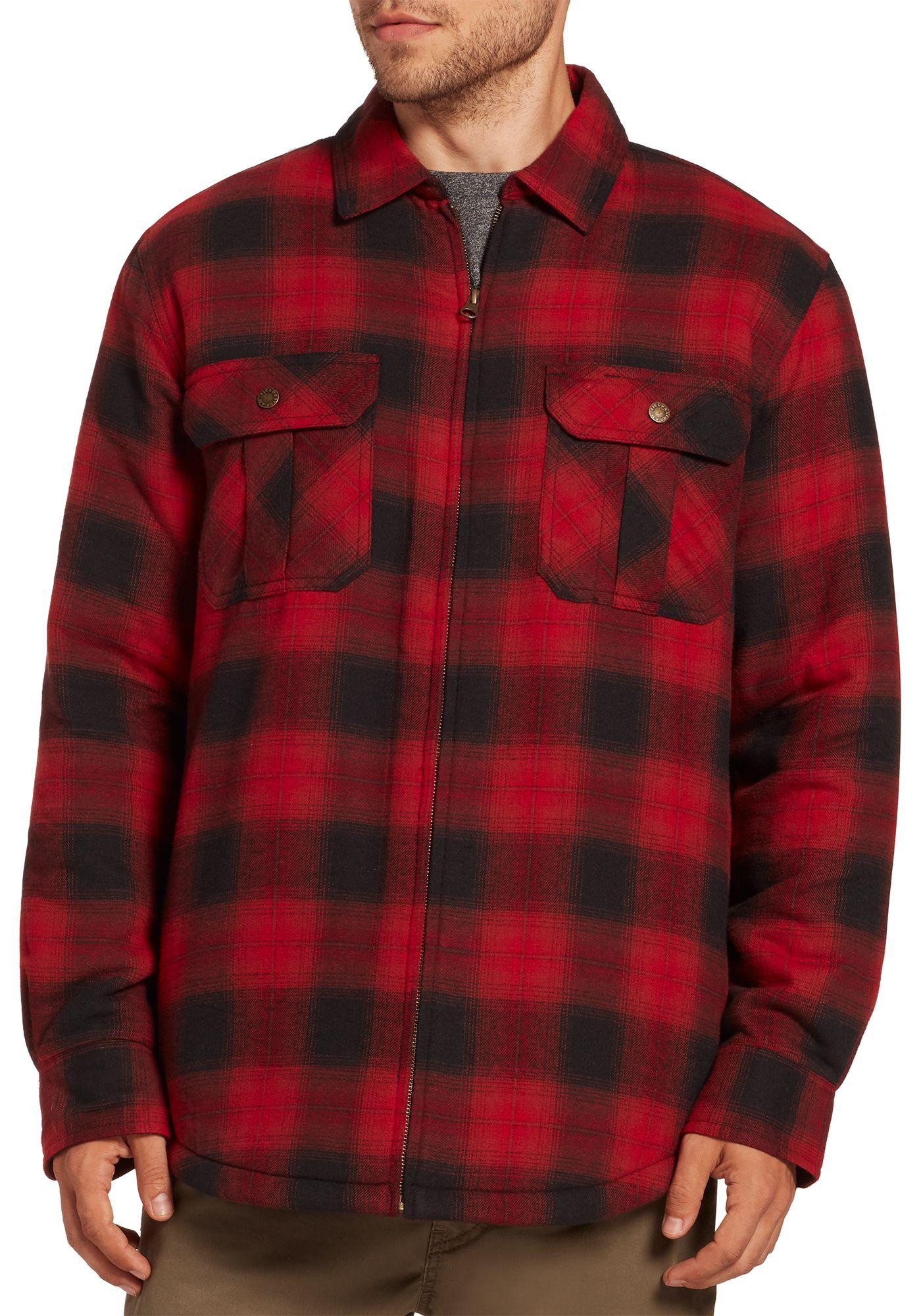 Field & Stream Men's Sherpa Lined Shirt Jacket