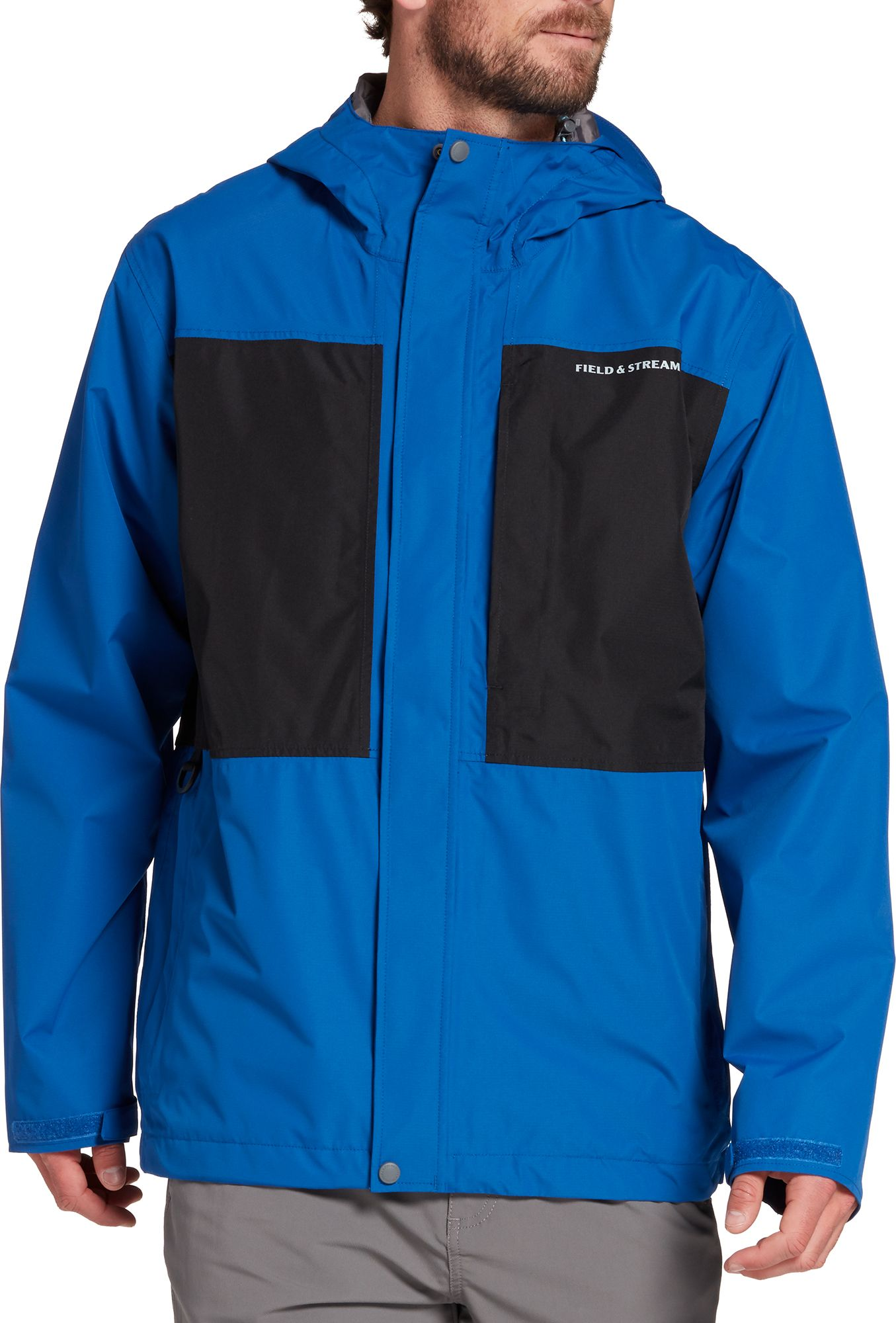 Field & Stream Men's Squall Defender 2.0 Fishing Jacket, Size: Small, Blue