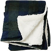 Field & Stream Cozy Buffalo Sherpa Blanket