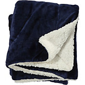Field & Stream Cozy Solid Sherpa Blanket