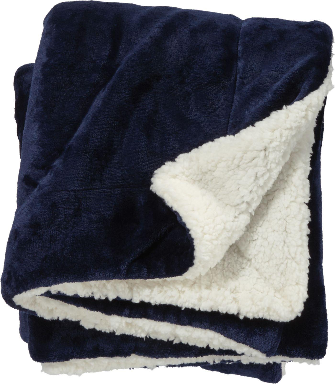 Field & Stream Cozy Solid Sherpa Blanket