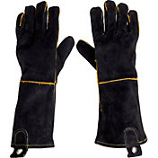 Field & Stream Leather BBQ Gloves