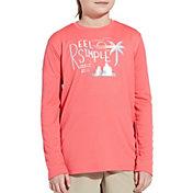 Field & Stream Youth Graphic Long Sleeve Tech Shirt