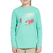 Field & Stream Youth Graphic Long Sleeve Tech Shirt