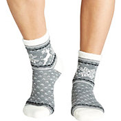 Field & Stream Women's Deer Nordic Cozy Cabin Crew Socks