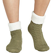 Field & Stream Women's Cozy Cabin Cable Fold Socks