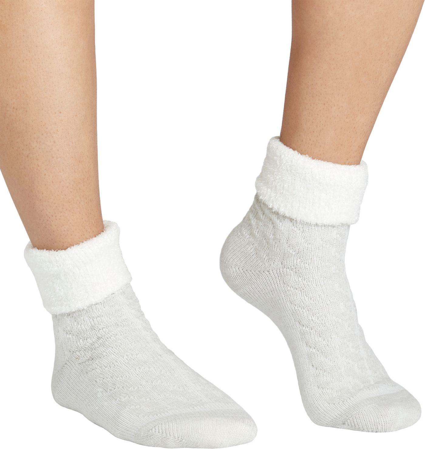 Field & Stream Women's Cozy Cabin Cable Fold Socks