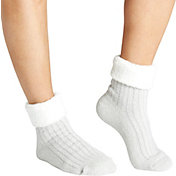 Field & Stream Women's Fold Marl Rib Cozy Cabin Crew Socks