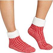 Field & Stream Women's Fold Marl Rib Cozy Cabin Crew Socks