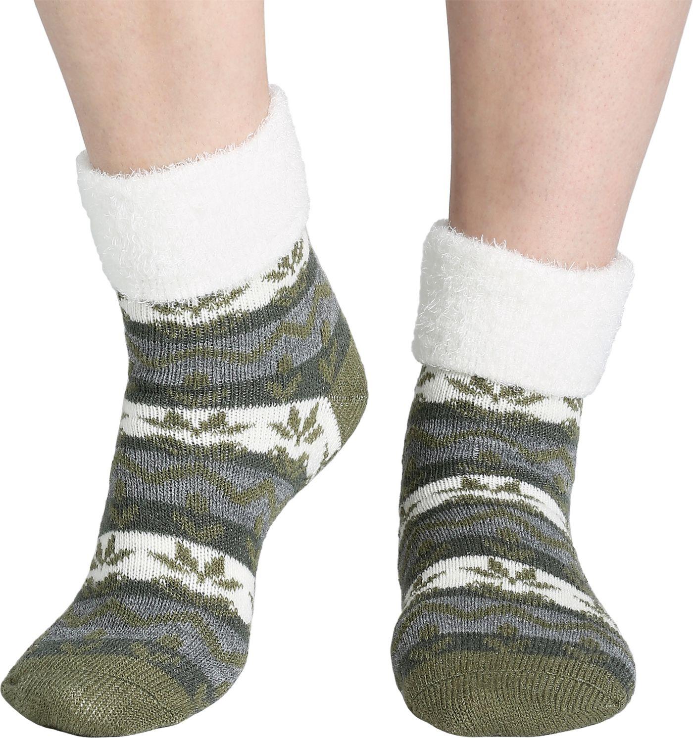 Field & Stream Women's Cozy Cabin Nordic Fold Socks