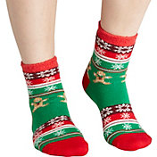 Field & Stream Women's Cozy Cabin Gingerbread Man Socks