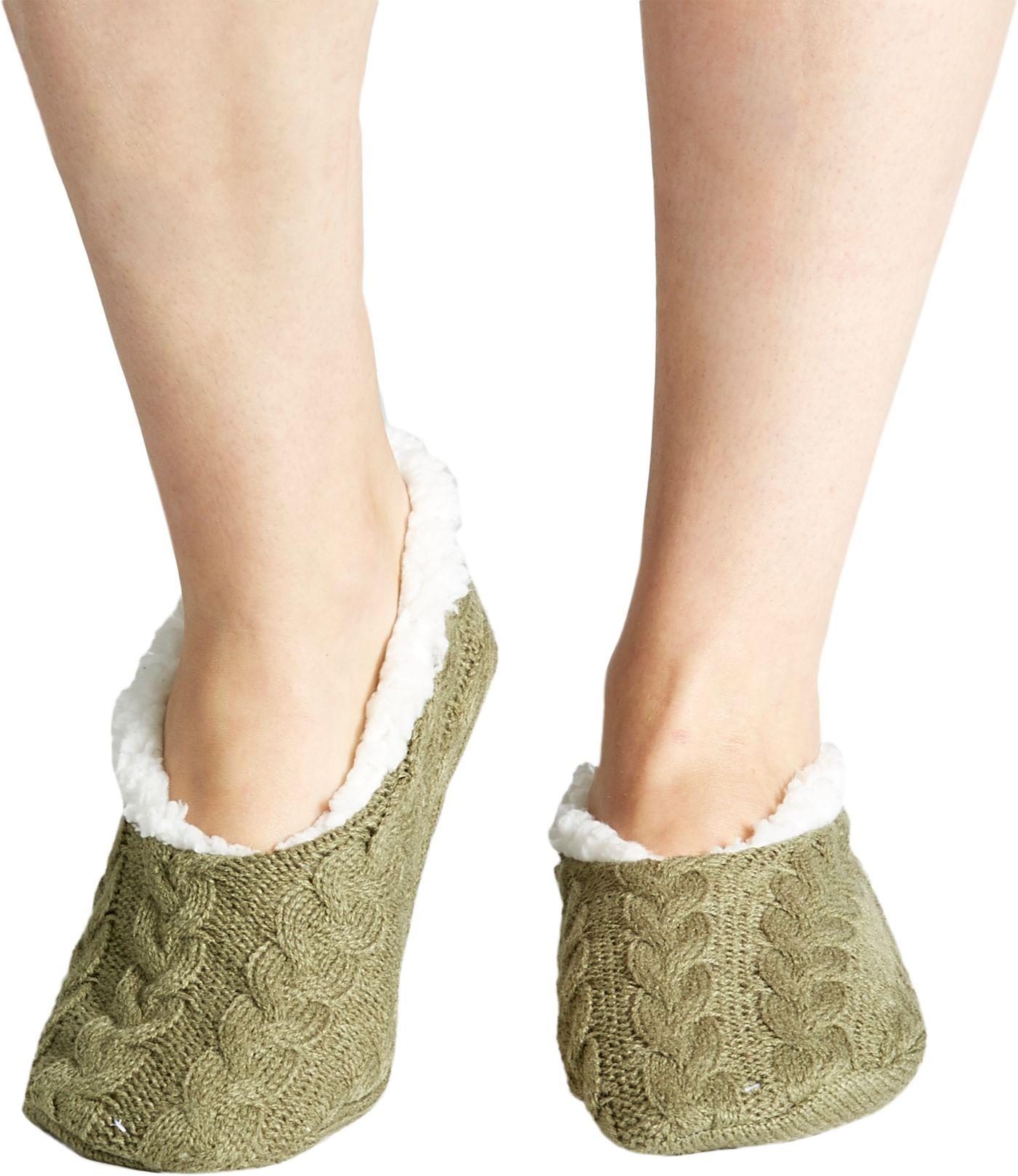 Field & Stream Women's Cozy Cabin Braided Slipper Socks